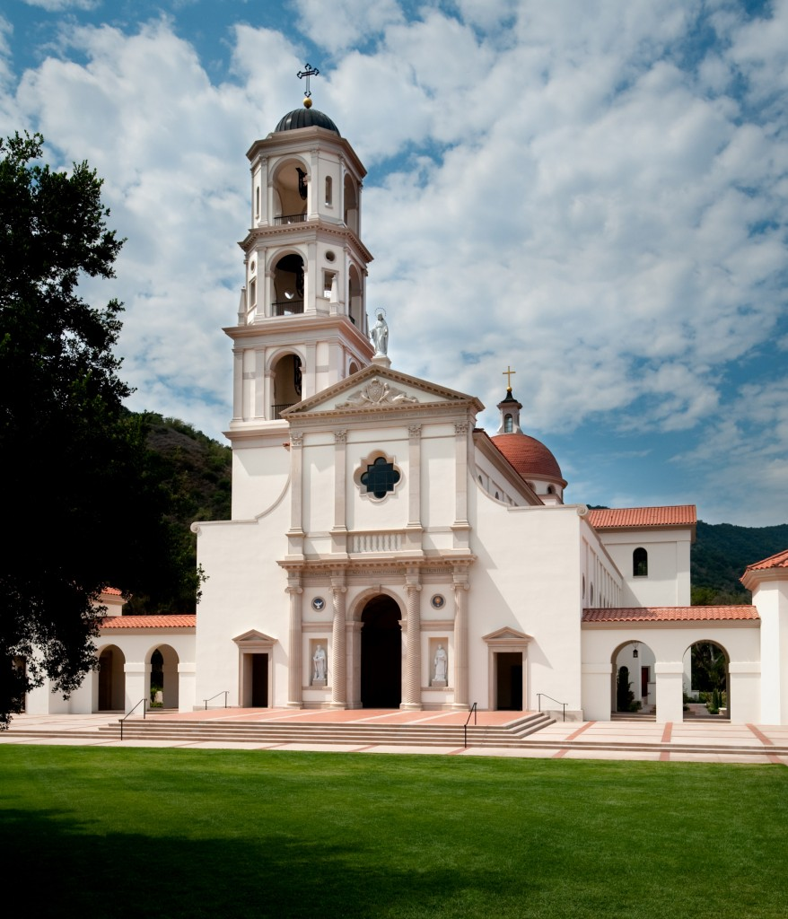 Our Lady of the Most Holy Trinity Chapel at Thomas Aquinas College in Santa Paula, California