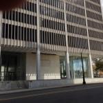 One Woodward Avenue, lobby.